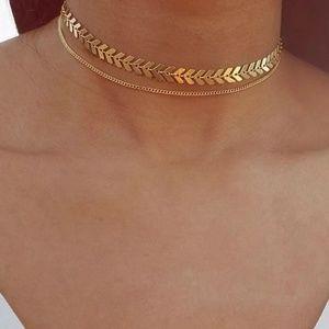 Jewelry - GOLD CHOKER NECKLACE